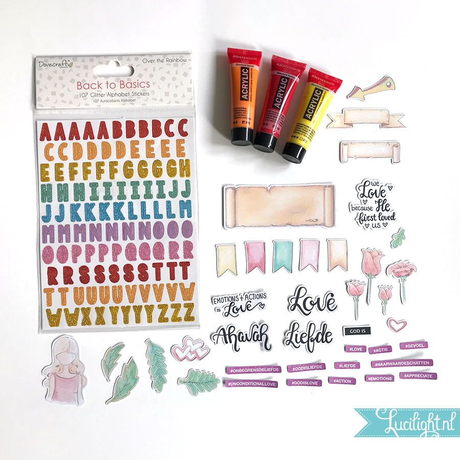 maart pakket bible journaling project 7