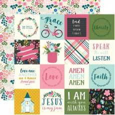 2x2 journaling cards Have Faith