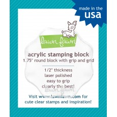 Acrylic stamping block small