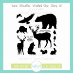 Scene Silhouettes: Woodland