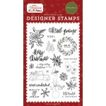 Christmas Greetings Stamp - CB