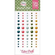 Have Faith enamel dots